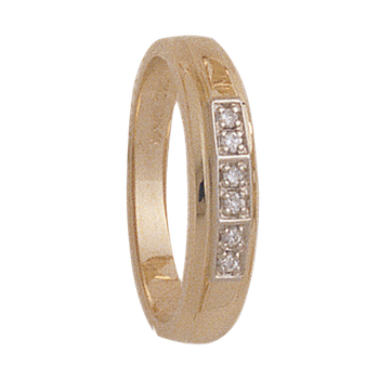 4mm 4921 Ladies Tapered Wedding Band