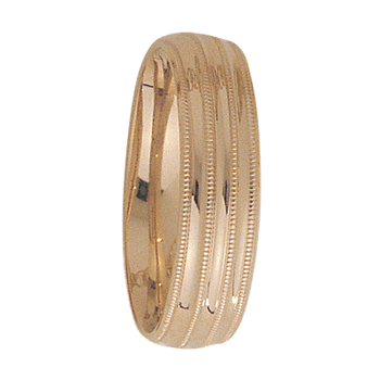 6mm 3T48 Mens Wedding Band