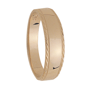 6mm tapered 318 Mens Wedding Band