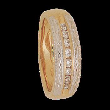 6mm 5216 Ladies Tapered Wedding Band