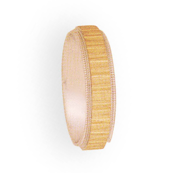 5mm 4t93 Ladies Two-Tone Wedding Band