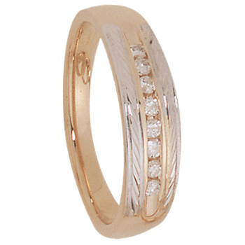 6mm 5194 Mens Tapered Wedding Band