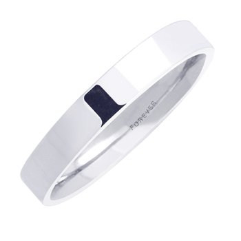 LADIES RECTANGULAR COMFORT CURVE BAND