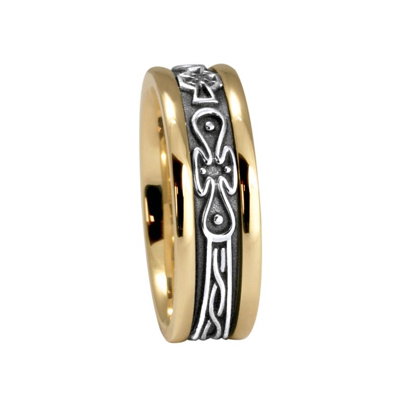 Cadman Catalog 7.5mm 5474 Ladies Celtic Wedding Band