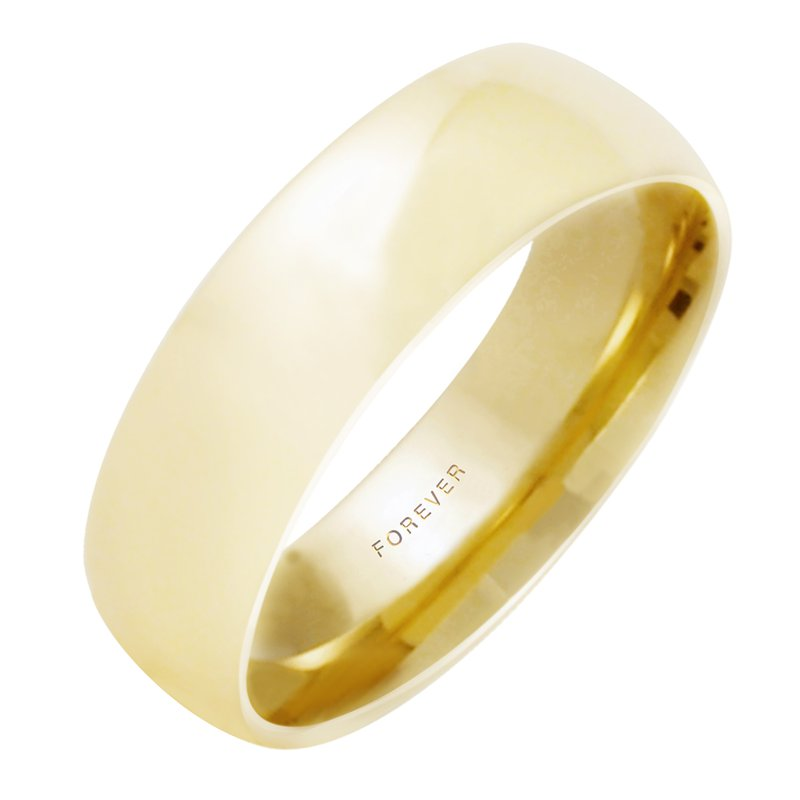 Cadmans MENS TIFFANY COMFORT CURVE WEDDING BAND