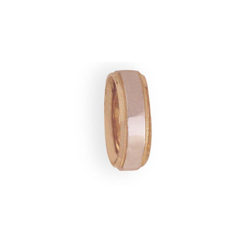 Cadman Catalog 7mm 4T44 Ladies Two-Tone Wedding Band