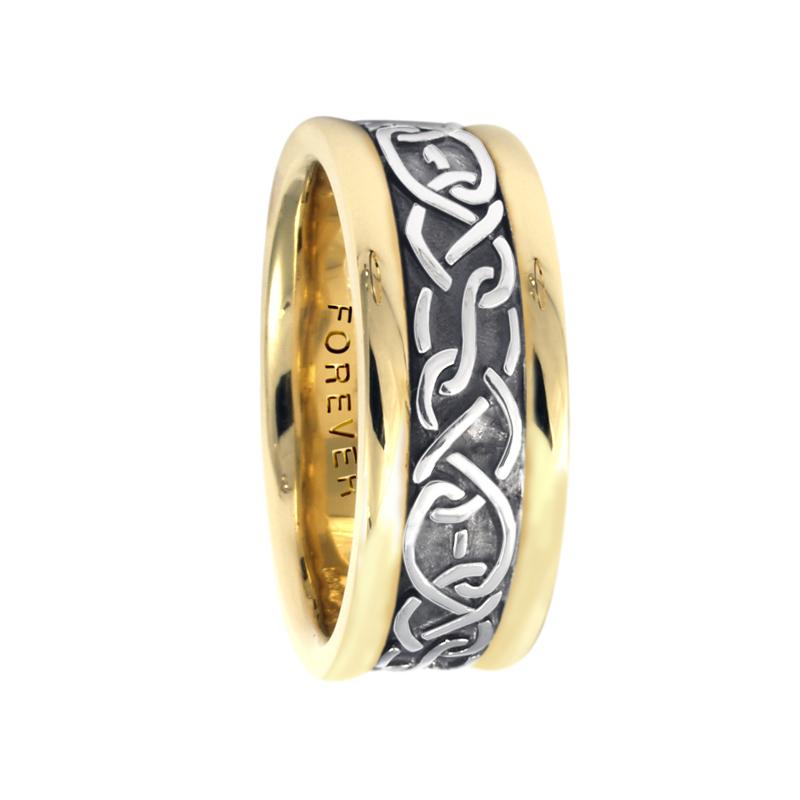 Cadman Catalog 7.5mm 5428 Ladies Celtic Wedding Band
