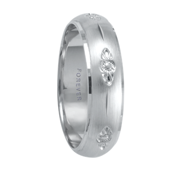 6mm 1T076 Ladies Comfort Curve Wedding Band