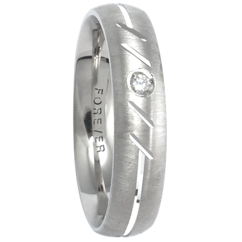5mm 1T026 Mens Comfort Curve Wedding Band