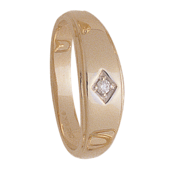 6mm 4926 MensTapered Wedding Band