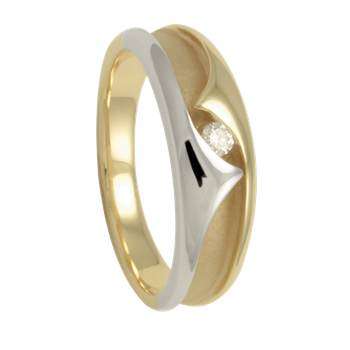 5-2.5mm 5585 Ladies Tapered Wedding Band