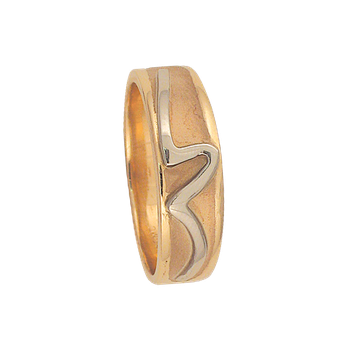 7mm 5386 Mens Tapered Wedding Band