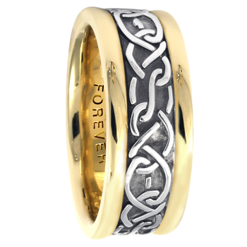 7.5mm 5428 Ladies Celtic Wedding Band