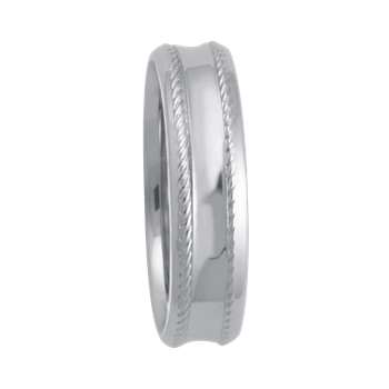 5mm 6T85 Ladies Comfort Curve Wedding Band