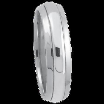 6mm 6T86 Mens Comfort Curve Wedding Band