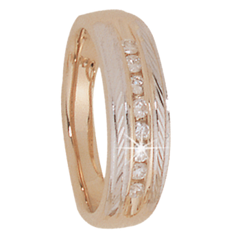 6mm 5194 Ladies Tapered Wedding Band