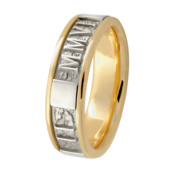 6.5mm 5588 Ladies Roman Numeral Band