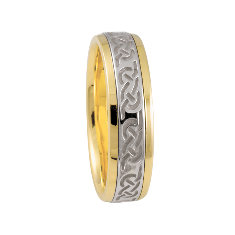 Cadman Catalog 6mm 5852 Mens Celtic Wedding Band
