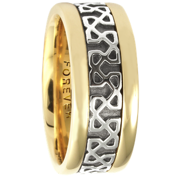 7.5mm 5420 Ladies Celtic Wedding Band