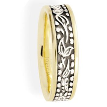 6.5mm 5690 Mens Aboriginal Series Band