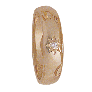 7mm 5141 Ladies Tapered Wedding Band