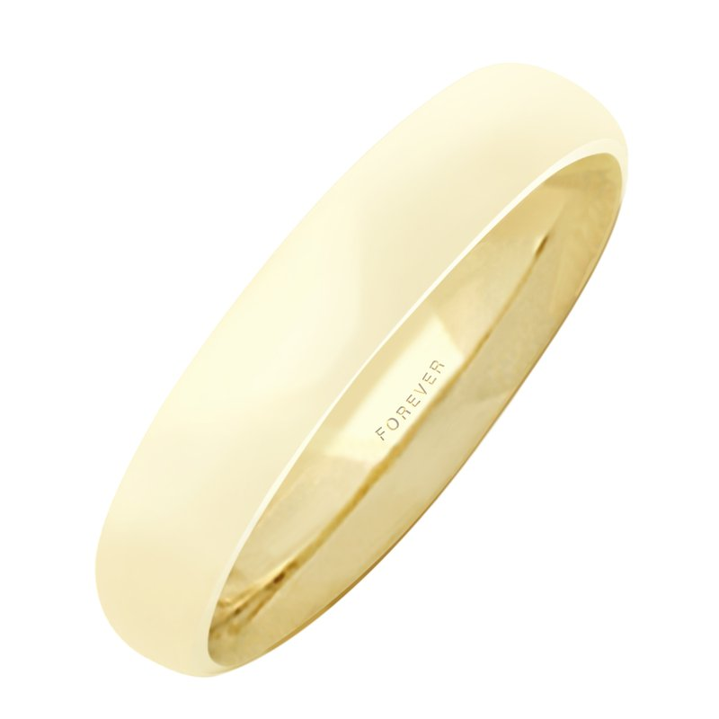 Cadman Catalog 4mm 4T18 Ladies Tiffany Comfort Curve Wedding Band