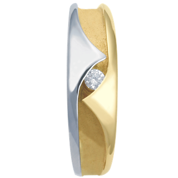 7-3.5mm 5584 Mens Tapered Wedding Band