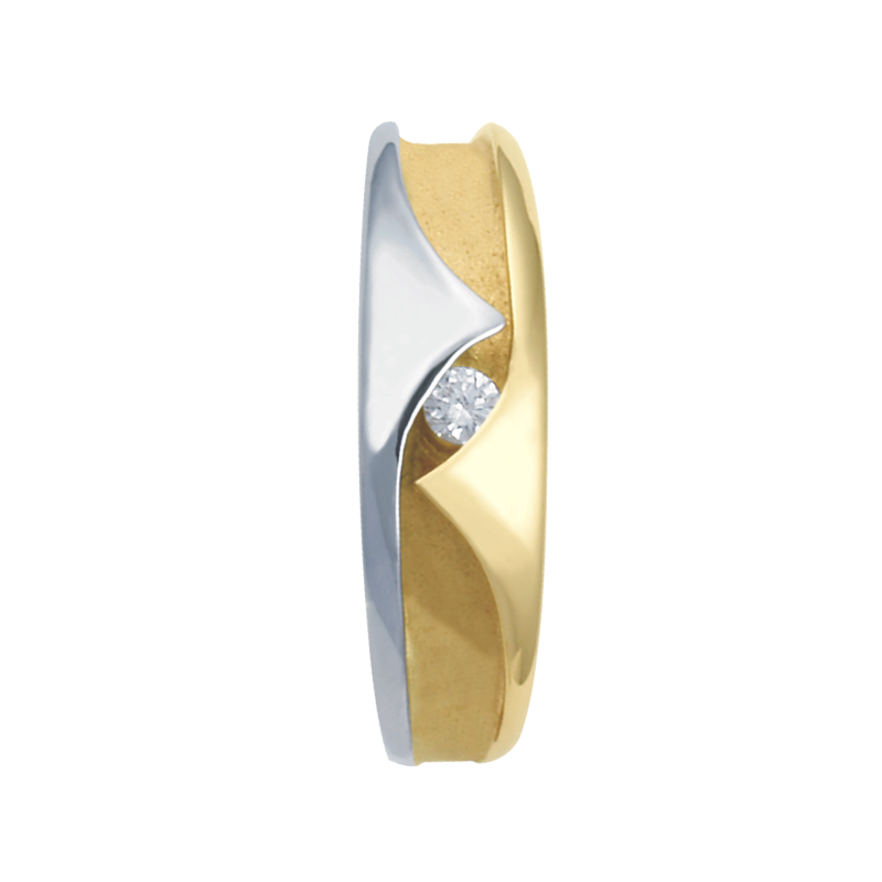 Cadman Catalog 7-3.5mm 5584 Mens Tapered Wedding Band