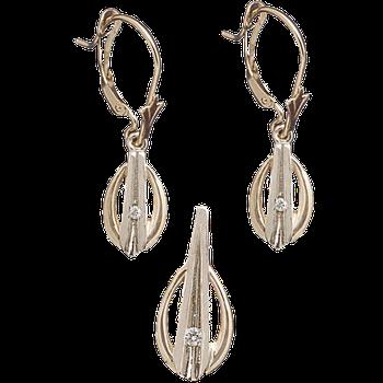 Earring & Pendant ED27