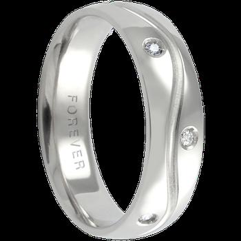 6mm 1T030 Mens Comfort Curve Wedding Band