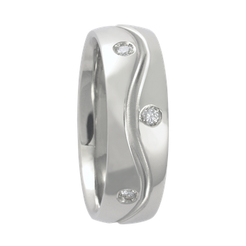 6mm 1T030 Ladies Comfort Curve Wedding Band