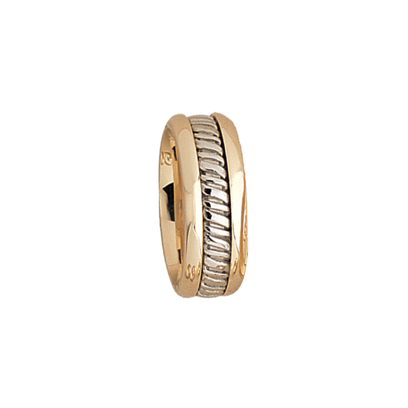 Cadman Catalog 7.5mm 5511 Ladies Two Tone Wedding Band