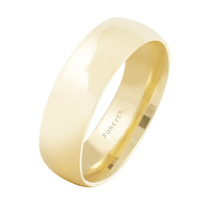 Cadmans LADIES TIFFANY COMFORT CURVE WEDDING BAND