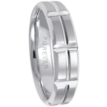 5.5mm 5754 Mens Wedding Band