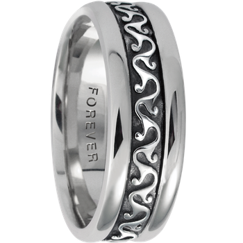 7.5mm 5410 Mens Celtic Wedding Band