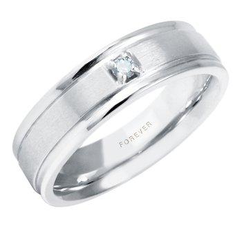 LADIES DIAMOND SET WEDDING BAND