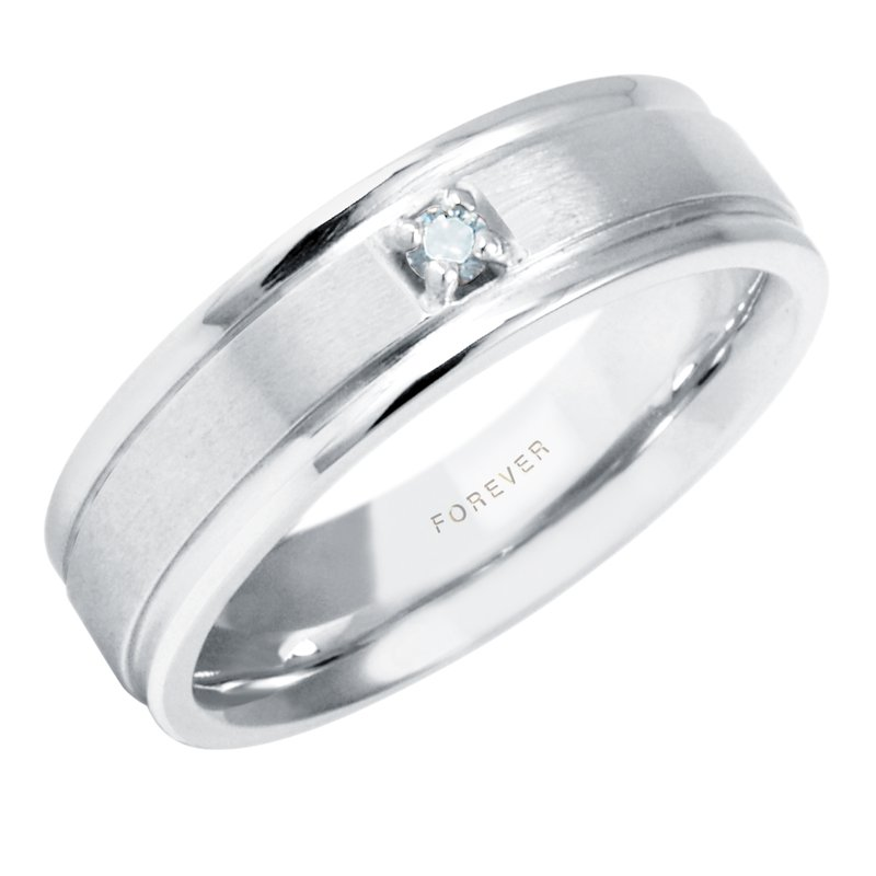 Cadmans LADIES DIAMOND SET WEDDING BAND