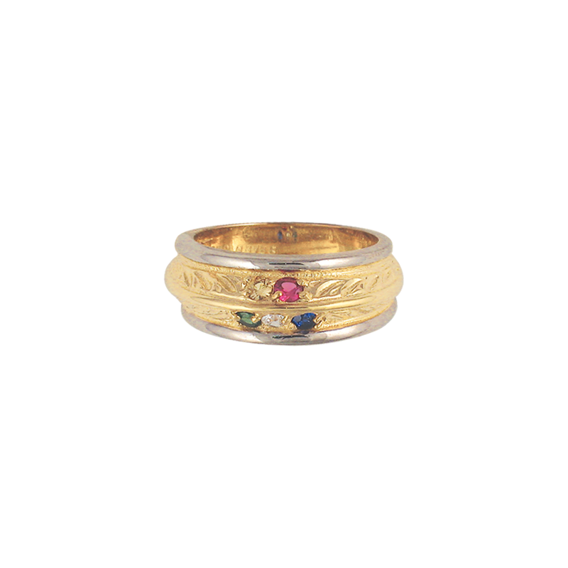 Cadman Catalog Family Ring F2576