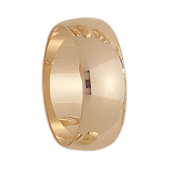 8mm 800 Mens Tiffany Wedding Band