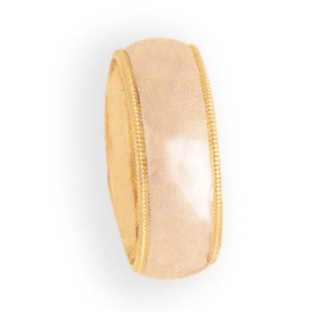8mm 8T01B Ladies Two-tone Comfort Curve Wedding Band