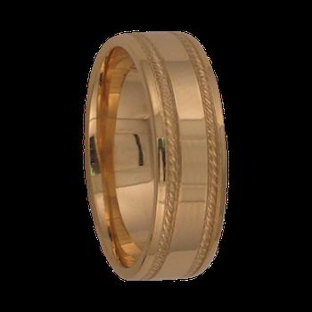 6mm 6T26 Ladies Comfort Curve Wedding Band