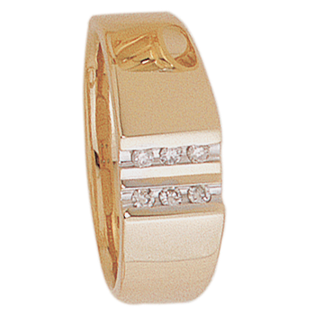 8mm 5200 Mens Tapered Wedding Band