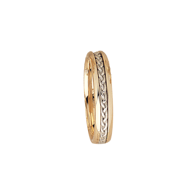 Cadman Catalog 5mm 5530 Mens Two Tone Wedding Band