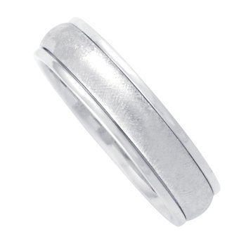 6mm 1T070 Mens Comfort Curve Wedding Band