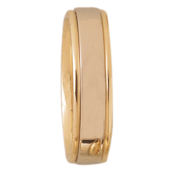 6mm DF6T01 Mens Two-Tone comfort Curve  Wedding Band