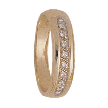 5mm 4925 Ladies Tapered Wedding Band