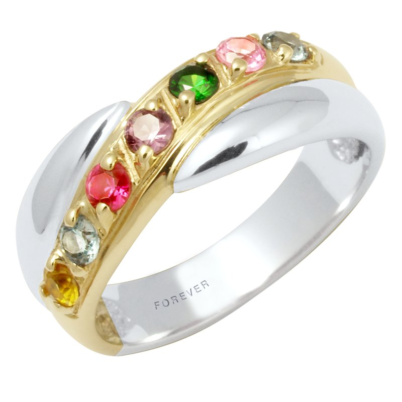 Cadman Two-Tone Family Ring