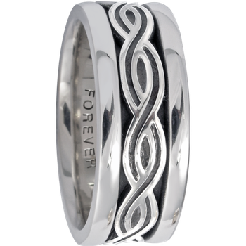 7.5mm 5422 Ladies Celtic Wedding Band