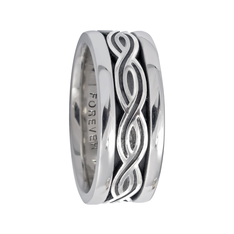 Cadman Catalog 7.5mm 5422 Ladies Celtic Wedding Band