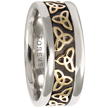 7.5mm 5414 Ladies Celtic Wedding Band